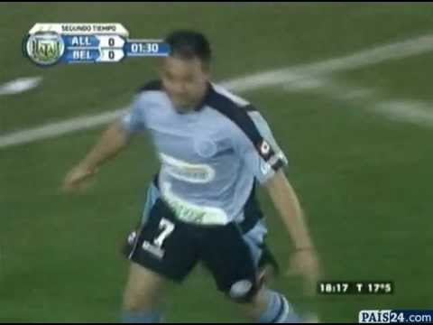 Gol de César Pereyra a All Boys