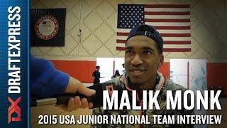 Malik Monk 2015 USA Basketball Mini-Camp Interview by DraftExpress