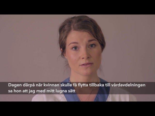 Anna-Karin berättar om att göra skillnad