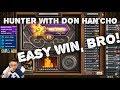 12 wins Hunter with Don Han'Cho!