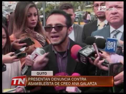 Presentan denuncia contra asambleísta de CREO Ana Galarza