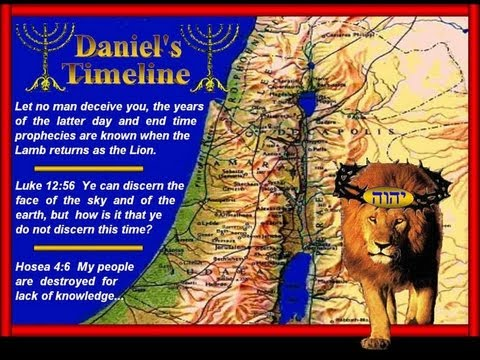 Daniel's Timeline! The tribulation has begun...