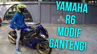 Video Yamaha R6 Modif Ganteng! - #46 Modifan dan Suara Knalpot Arrownya Keren Abis! MP3, 3GP, MP4, WEBM, AVI, FLV Juli 2018