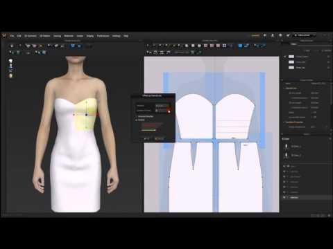 Marvelous Designer 5.5_Offset internal line (видео)