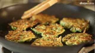 How to Make Zucchini Fritters