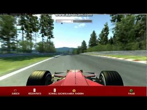 Nordschleife Nürburgring Abschnitt Nürburg Ferrari Legends F1