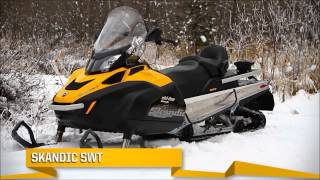 5. Ski Doo Skandic and Tundra Snowmobile