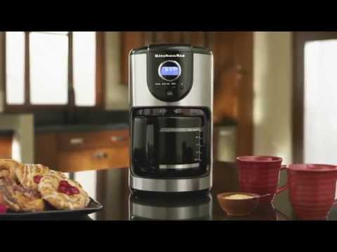 The KitchenAid® 12-Cup Coffee Maker