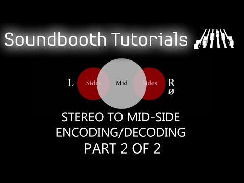 Pro Tools Tutorial: Stereo to Mid-Side Encoding/Decoding using standard plugins – Part 2 of 2