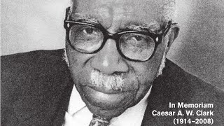 Preaching Legend, Dr. Caesar Arthur Walter Clark Preaching