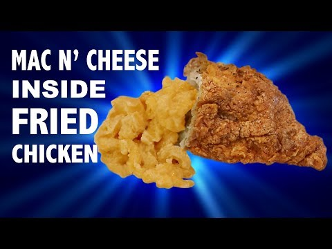 MAC N' CHEESE INSIDE FRIED CHICKEN - VERSUS