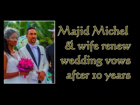 Majid Michel and wife Virna Michel renew wedding vows | GhanaGist TV