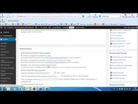 Plugin google XML sitemap 4.0 para wordpress