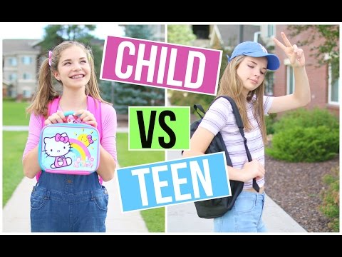 gratis download video - CHILD-YOU-VS-TEEN-YOU-GOING-BACK-TO-SCHOOL