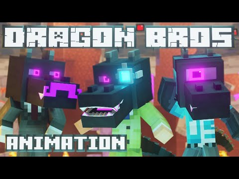 Dragon Bros Animation - Music From ElyBeatmaker 👁 - Voice of Iskall85
