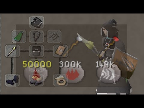 Runescape 2007 - Sparc Mac's Staking Adventure #3 & 50,000 Fire Waves!