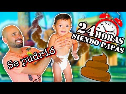 24 HORAS SIENDO PAPÁS - SE HACE P0P0 - RULES