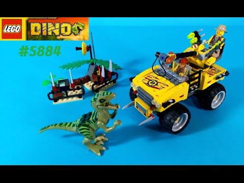 Vidéo LEGO Dino 5884 : La poursuite du Vélociraptor