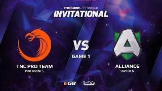 TNC Pro Team vs Alliance, Game 1, SL i-League Invitational S2 LAN-Final, Group A
