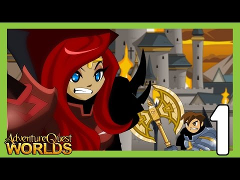 Let's Play AdventureQuest Worlds - Part 1 - A NEW BEGINNING
