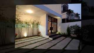 Дизайн современного частного дома Go Vap от студии MM++ Architects