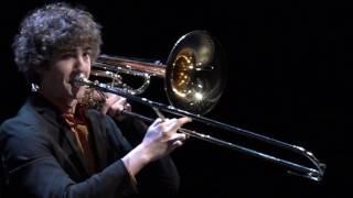 Pelle van Esch (bastrombone) - Nationale Finale Prinses Christina Concours 2017
