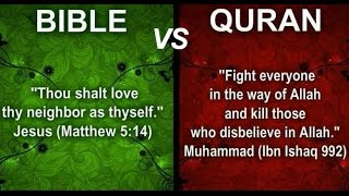 All Muslims Hate Jesus Christ the Son of God YAHWEH of Israel - Bible vs Quran Video