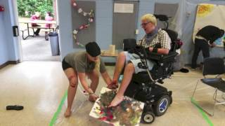 Behind the Scenes / Producing Accessible Art