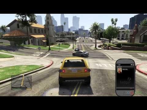 GTA V PS3 Gameplay / Walkthrough / Playthrough / 1080P Part 3 - Complications