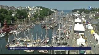 Douarnenez France  city images : France 3 Bretagne 474-Reportage spectacle final Temps fête Douarnenez 2014