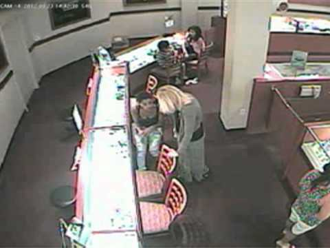 Woman Steals Engagement Ring Set From Jewelry Store