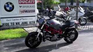 5. Pre-Owned 2007 Ducati Monster S4R Testastretta Grey at Euro Cycles of Tampa Bay