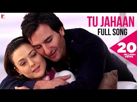 Tu Jahaan | Full Song | Salaam Namaste | Saif Ali Khan, Preity Zinta | Sonu Nigam, Mahalaxmi Iyer