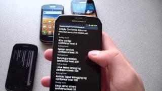 Voodoo Carrier IQ detector YouTube video