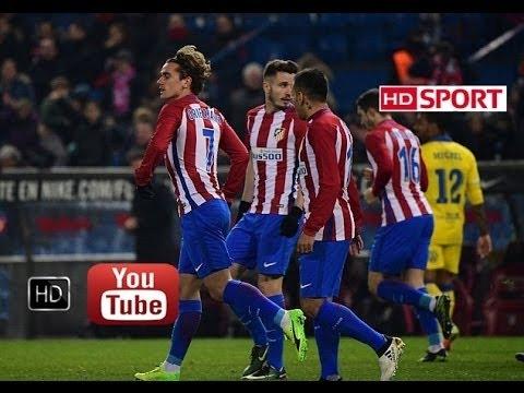 Atletico Madrid vs Las Palmas 2-3 (AGG 4-3) All Goals HD ~ Copa del Rey 2017