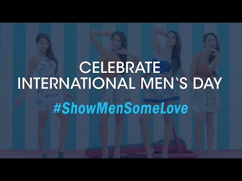 International Men's Day 2015 - #ShowMenSomeLove