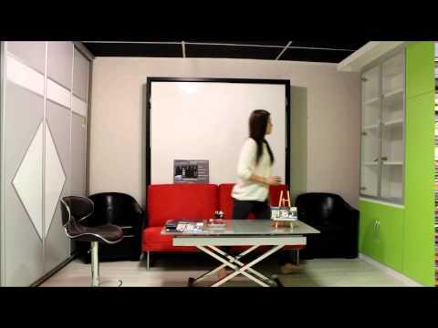 Vidéo solutions escamotables gain de place