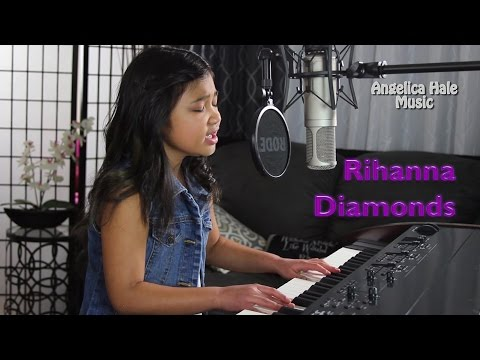 Rihanna - Diamonds Amazing Cover by 9 year old Angelica Hale!!