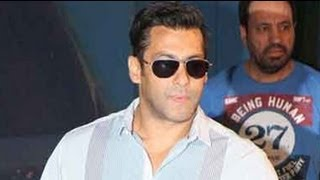 Salman Khan Injures Himself