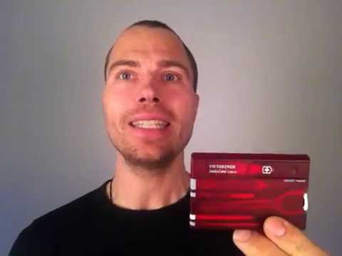Multitool, SwissCard Clasic, test