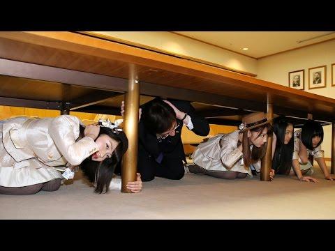 神戸市でシェイクアウト訓練 AKBも参加