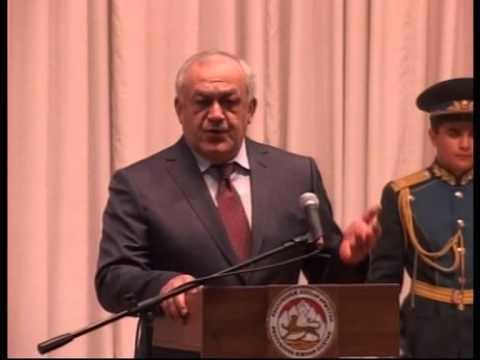 Церемония инаугурации избранного Президента Республики Южная Осетия Леонида Тибилова