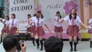 20120520 関西女子大生団体riche (including 鈴木由佳) 大声ダイヤモンド
