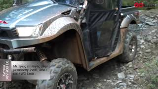 9. GOCAR TEST DRIVE Kymco UXV 700i LX