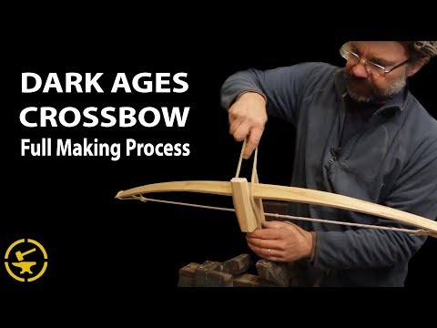 Dark Ages Crossbow - Full making process [36:08]