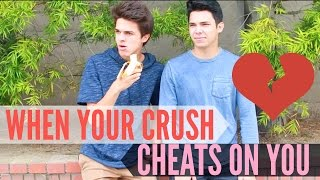"When Your Crush CHEATS on You!  Brent RiveraDon't forget to LIKE this video if you LOVED it! :) I love you guys:) If you're new here, don't forget to subscribe for weekly videos! I don't want you to miss out!! Hang out with me on Social Media:SnapChat, Add me: TheBrentRiveraInstagram: @BrentRiveraTwitter: @BrentRiveraMusical.ly: @BrentRiveraFacebook: @BrentRiveraI have all rights to the videography and audio in this post according to Final Cut Pro's/YouTube's ""terms of use."""