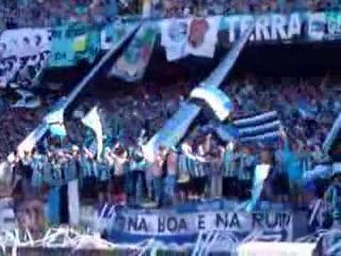 Geral do Grêmio - Grêmio x SPFC - Sentimento que faz amar - Geral do Grêmio - Grêmio