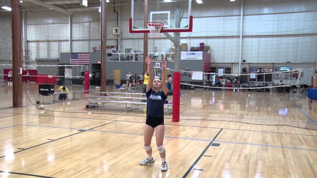 Amanda Ganete – Libero/DS – Class of 2015 – Volleyball skills video
