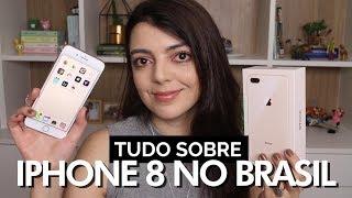 IPHONE 8 PLUS no Brasil | Lia Camargo