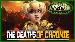 The Deaths of Chromie is a new solo challenge scenario up now in 7.2.5! While the scenario title sounds quite serious, it's actually tongue-in-cheek. Chromie finds herself in trouble across multiple timelines and it's up to you to help her disrupt all the threats! Earn reputation, special transmog sets, and more for helping Chromie.♥ Don't Forget to Subscribe - http://bit.ly/UIPH1l ♥► Facebook: https://www.facebook.com/lunaireclipse ◄► Twitter: https://twitter.com/lunaireclipse ◄- Popular Playlists -► Final Fantasy XIII - https://www.youtube.com/playlist?list=PLljx8ZoudoOmOjTh1mbtctLF-FONh6xws► Batman: Arkham Knight - https://www.youtube.com/playlist?list=PLljx8ZoudoOk5XkK8GyIC2LSA99uZ9I2X► Batman: Arkham City - https://www.youtube.com/playlist?list=PLljx8ZoudoOkxIvRELCFi0HAX15dtmNnU